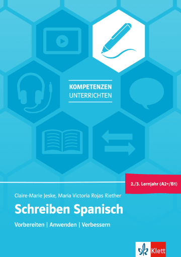 Cover Schreiben Spanisch 2./3. Lernjahr (A2+/B1) 978-3-12-525623-1 Spanisch