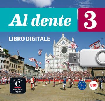Cover Al dente 3 (B1) 978-3-12-525390-2 Italienisch