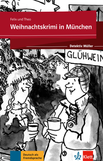 Cover Weihnachtskrimi in München 978-3-12-675123-0 Deutsch als Fremdsprache (DaF)
