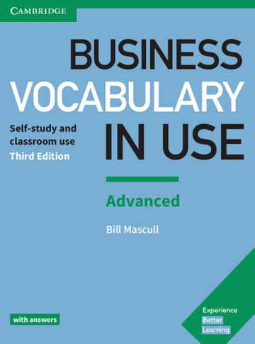 Cover Business Vocabulary in Use: Advanced Third edition 978-3-12-533667-4 Englisch