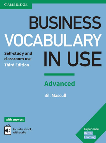 Cover Business Vocabulary in Use: Advanced Third edition 978-3-12-533647-6 Englisch
