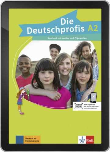 Cover Die Deutschprofis A2 978-3-12-676468-1 Deutsch als Fremdsprache (DaF)