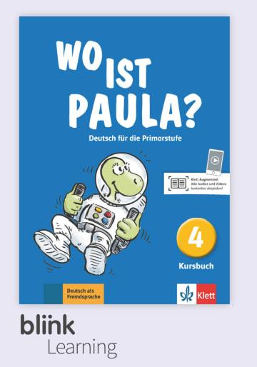 Cover Wo ist Paula? 4 - Digitale Ausgabe mit LMS NP00860528701 Deutsch als Fremdsprache (DaF)