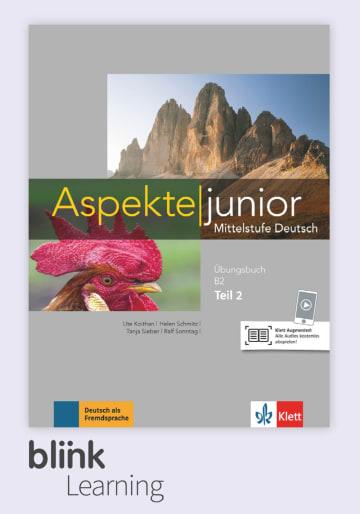 Cover Aspekte junior B2 parte 2, versión digital NP00860525502 Deutsch als Fremdsprache (DaF),Deutsch als Zweitsprache (DaZ)