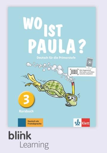 Cover Wo ist Paula? 3 - Digitale Ausgabe mit LMS NP00860528501 Deutsch als Fremdsprache (DaF)