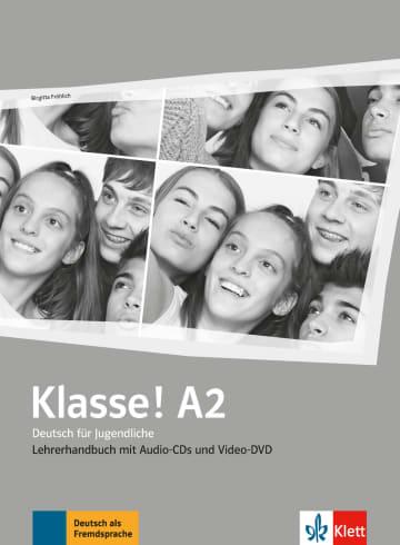 Cover Klasse! A2 978-3-12-607137-6 Deutsch als Fremdsprache (DaF),Deutsch als Zweitsprache (DaZ)