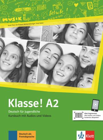 Cover Klasse! A2 978-3-12-607131-4 Deutsch als Fremdsprache (DaF),Deutsch als Zweitsprache (DaZ)