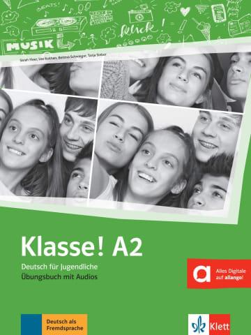 Cover Klasse! A2 978-3-12-607132-1 Deutsch als Fremdsprache (DaF),Deutsch als Zweitsprache (DaZ)