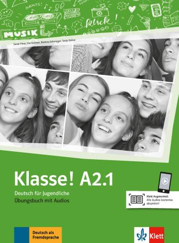 Cover Klasse! A2.1 978-3-12-607135-2 Deutsch als Fremdsprache (DaF),Deutsch als Zweitsprache (DaZ)