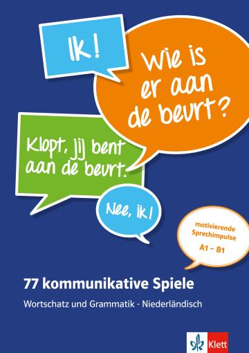 Cover 77 kommunikative Spiele 978-3-12-525852-5 Niederländisch