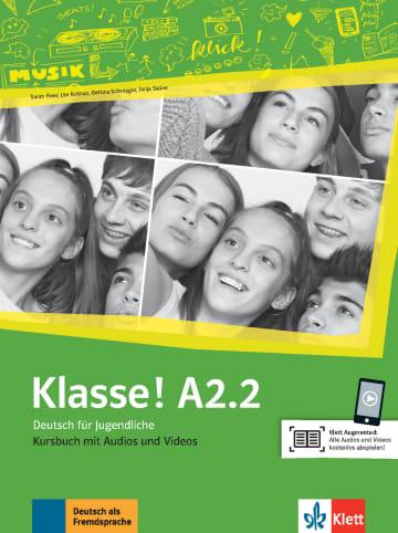 Cover Klasse! A2.2 978-3-12-607134-5 Deutsch als Fremdsprache (DaF),Deutsch als Zweitsprache (DaZ)