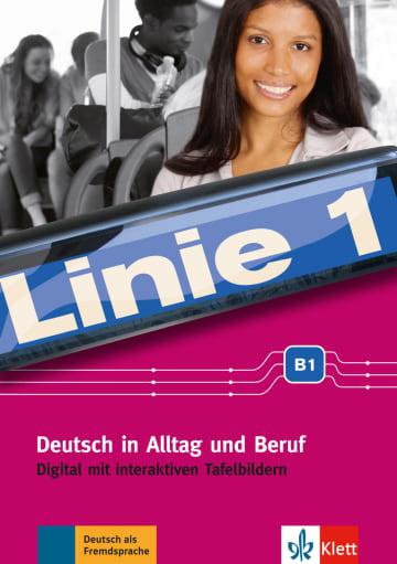 Cover Linie 1 B1 digital 978-3-12-607087-4 Deutsch als Fremdsprache (DaF),Deutsch als Zweitsprache (DaZ)