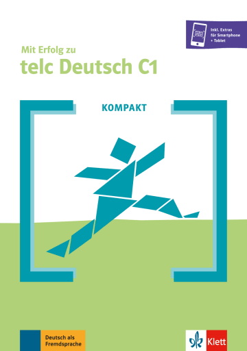 Cover KOMPAKT Mit Erfolg zu telc Deutsch C1 978-3-12-675193-3 Deutsch als Fremdsprache (DaF)