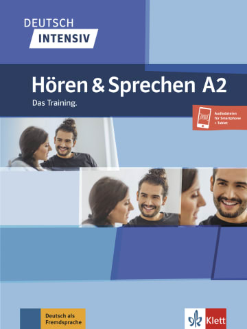 Cover Deutsch intensiv Hören und Sprechen A2 978-3-12-675049-3 Deutsch als Fremdsprache (DaF)