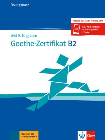 Cover Mit Erfolg zum Goethe-Zertifikat B2 978-3-12-675154-4 Deutsch als Fremdsprache (DaF)