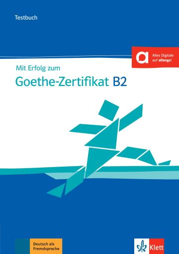 Cover Mit Erfolg zum Goethe-Zertifikat B2 neu 978-3-12-675155-1 Deutsch als Fremdsprache (DaF)