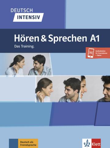 Cover Deutsch intensiv Hören und Sprechen A1 978-3-12-675048-6 Deutsch als Fremdsprache (DaF)