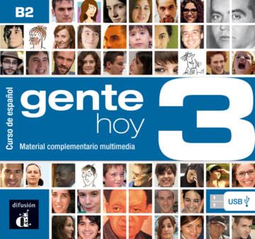 Cover Gente hoy 3 978-3-12-515759-0 Spanisch