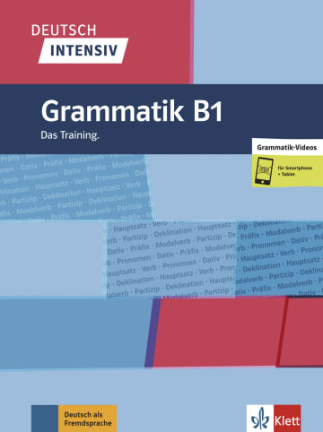 Cover Deutsch intensiv Grammatik B1 978-3-12-675067-7 Deutsch als Fremdsprache (DaF)
