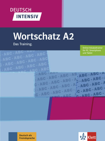 Cover Deutsch intensiv Wortschatz A2 978-3-12-675074-5 Deutsch als Fremdsprache (DaF)