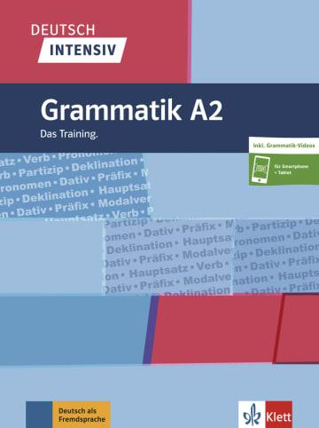 Cover Deutsch intensiv Grammatik A2 978-3-12-675059-2 Deutsch als Fremdsprache (DaF)
