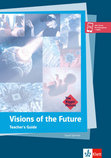 Cover Visions of the Future 978-3-12-580011-3 Sarah Garman Englisch
