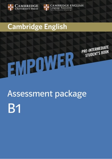 Cover Cambridge English Empower B1 - Digital package - Digitale Ausgabe mit LMS NP00854037701 Englisch