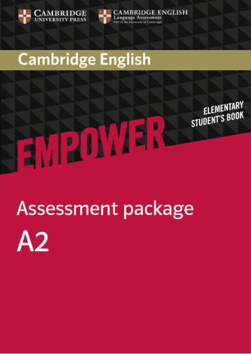 Cover Cambridge English Empower A2 - Digital package - Digitale Ausgabe mit LMS NP00854037001 Englisch