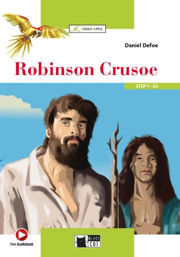 Cover Robinson Crusoe 978-3-12-500115-2 Daniel Defoe Englisch