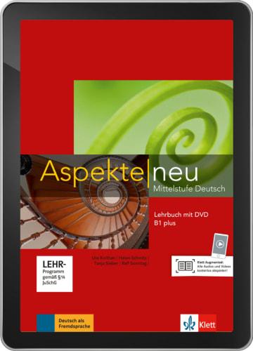 Cover Aspekte neu B1+ - Digitale Ausgabe ohne LMS NP00860501503 Deutsch als Fremdsprache (DaF)