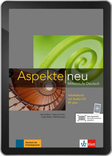 Cover Aspekte neu B1+ - Digitale Ausgabe ohne LMS NP00860501703 Deutsch als Fremdsprache (DaF)