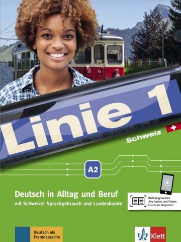 Cover Linie 1 Schweiz A2 978-3-12-607051-5 Deutsch als Fremdsprache (DaF),Deutsch als Zweitsprache (DaZ)