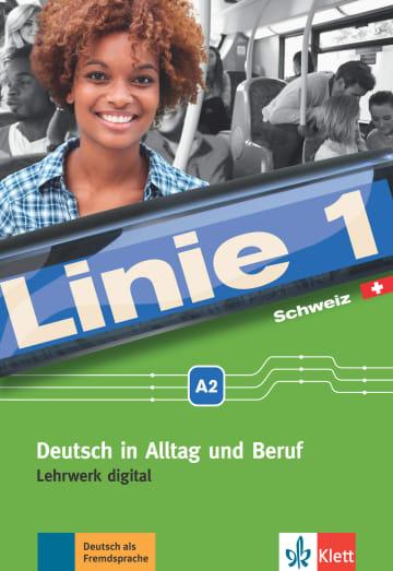 Cover Linie 1 Schweiz A2 978-3-12-607085-0 Deutsch als Fremdsprache (DaF),Deutsch als Zweitsprache (DaZ)