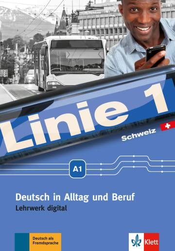 Cover Linie 1 Schweiz A1 978-3-12-607084-3 Deutsch als Fremdsprache (DaF),Deutsch als Zweitsprache (DaZ)