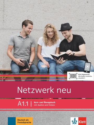 Cover Netzwerk neu A1.1 978-3-12-607154-3 Deutsch als Fremdsprache (DaF)