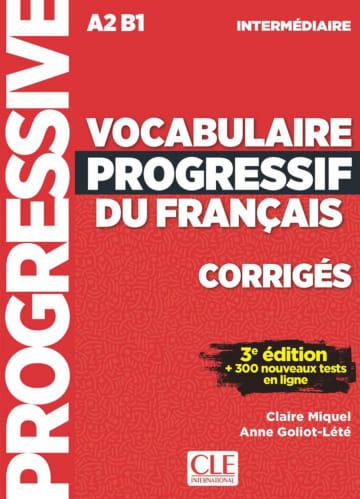Cover Vocabulaire progressif du français 978-3-12-530009-5 Französisch