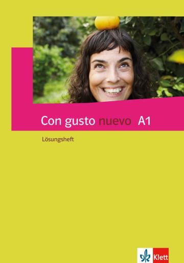 Cover Con gusto nuevo A1 978-3-12-514674-7 Spanisch