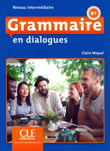 Cover Grammaire en dialogues 978-3-12-529498-1 Französisch