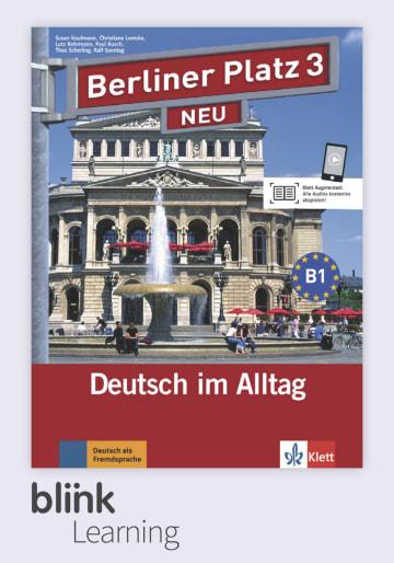 Cover Berliner Platz NEU 3 - Digitale Ausgabe mit LMS NP00860605603 Deutsch als Fremdsprache (DaF)