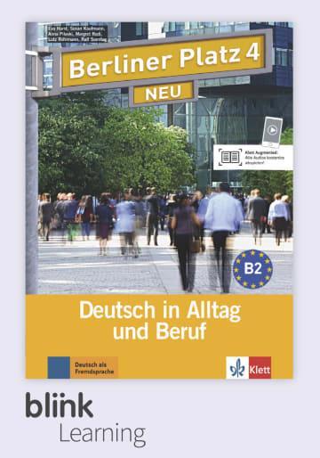 Cover Berliner Platz NEU 4 - Digitale Ausgabe mit LMS NP00860607703 Deutsch als Fremdsprache (DaF)