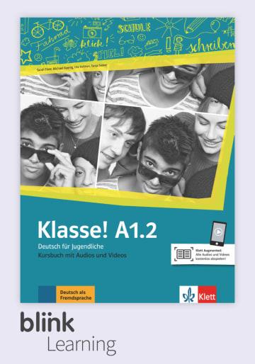 Cover Klasse! A1.2, versión digital NP00860712201 Deutsch als Fremdsprache (DaF),Deutsch als Zweitsprache (DaZ)