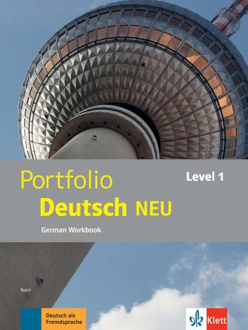 Cover Portfolio Deutsch NEU Level 1 978-3-12-605321-1 Deutsch als Fremdsprache (DaF)