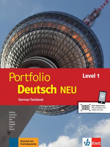 Cover Portfolio Deutsch NEU Level 1 978-3-12-605320-4 Deutsch als Fremdsprache (DaF)