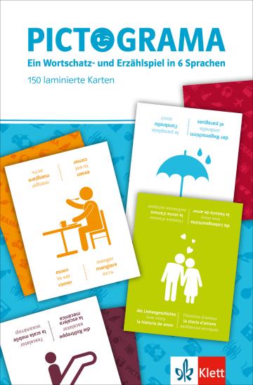 Cover Pictograma 978-3-12-519573-8 Deutsch als Fremdsprache (DaF),Englisch,Französisch,Italienisch,Russisch,Spanisch