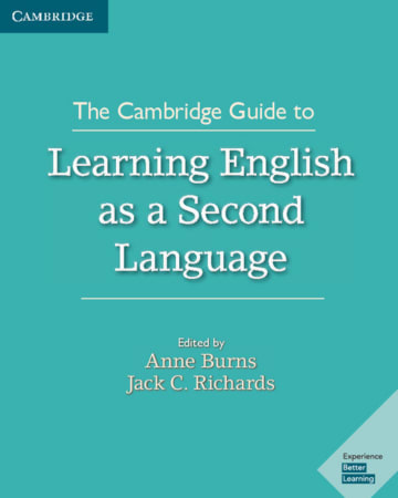 Cover The Cambridge Guide to Learning English as a Second Language 978-3-12-535460-9 Englisch