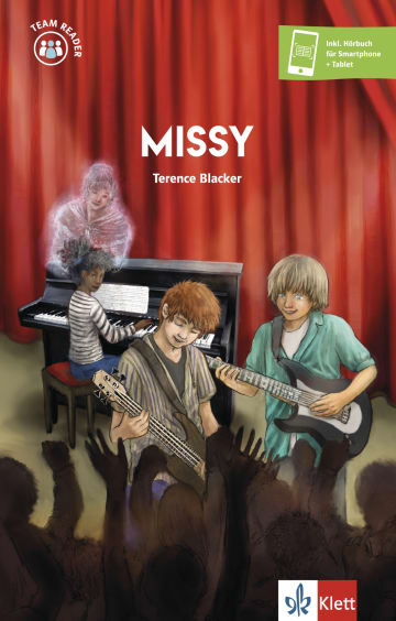Cover Missy 978-3-12-530906-7 Terence Blacker Englisch