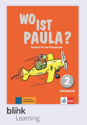 Cover Wo ist Paula? 2, versión digital NP00860528301 Deutsch als Fremdsprache (DaF)
