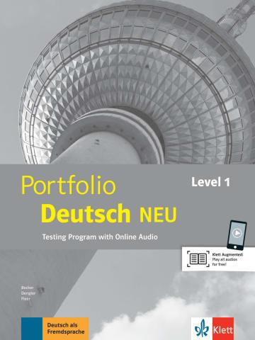 Cover Portfolio Deutsch NEU Level 1 978-3-12-605323-5 Deutsch als Fremdsprache (DaF)