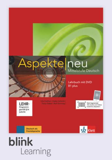 Cover Aspekte neu B1+ - Digitale Ausgabe mit LMS NP00860501504 Deutsch als Fremdsprache (DaF)