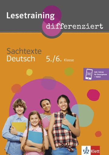 Cover Lesetraining differenziert - Sachtexte Deutsch 5./6. Klasse 978-3-12-666210-9 Deutsch,Deutsch als Zweitsprache (DaZ)